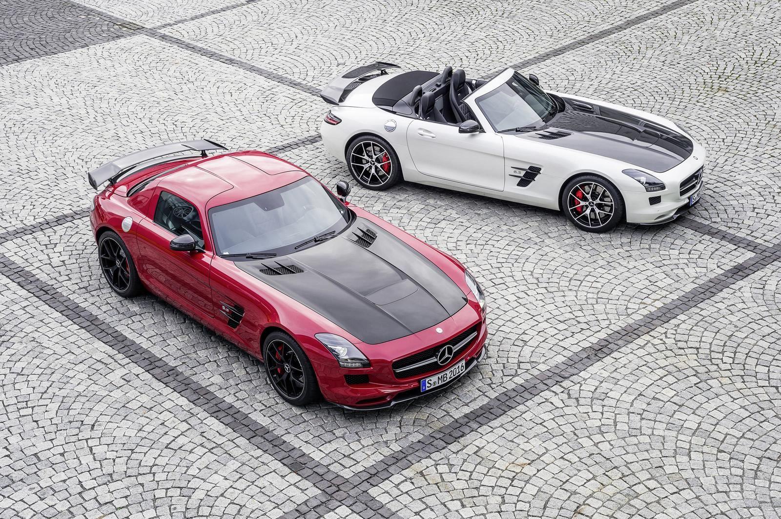 Mercedes Benz Sls Amg Gt Final Edition 12 Mersedes Bens