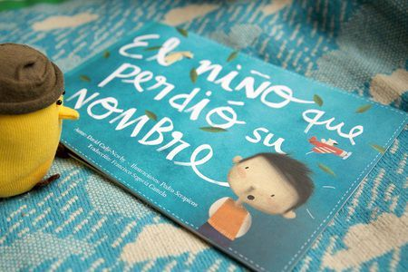 "Personalitza un llibre ""El niño que perdió su nombre""  Personalised children's books 