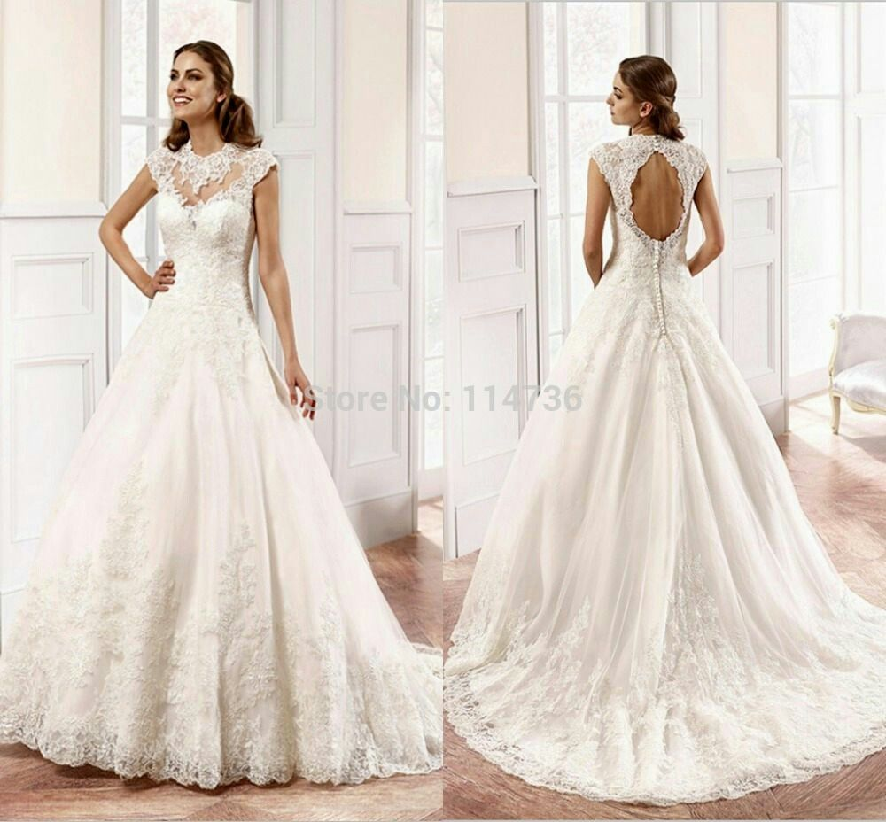 Open back lace wedding dresses  Pin by Mary Constant on Wedding Dresses  Pinterest  Wedding dress