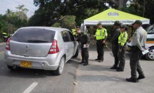 Policia realiza campaña de prevencion vial Copiloto en la Via