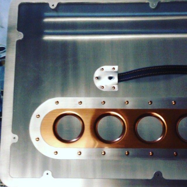 Video The Low Lux Door Panels Are Complete With The Door Pulls Installed Aluminum Copper Ryans Sheetmetal Custom Car Interior Metal Shaping Sheet Metal Work