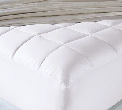 Temperature Regulating Sateen Mattress Pad Mattress Pad Sheets Bed