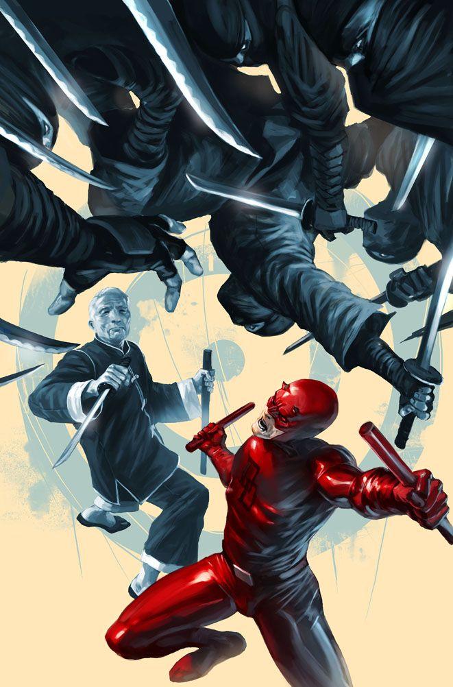 Daredevil & Master Izo | Marvel daredevil, Marvel comics, Marvel comics art