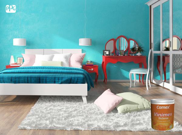 No esperes m s pinta tu cuarto con esos colores que has for Pintura de interiores precios