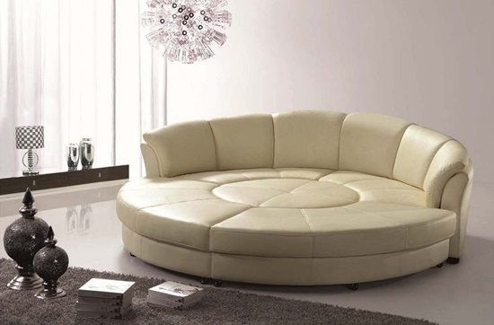 Get Classy Look Inside Your Living Room By Having Italian Curved Leather Sofa Leather Sofa Bed Round Sofa Sectional Sofa Sale