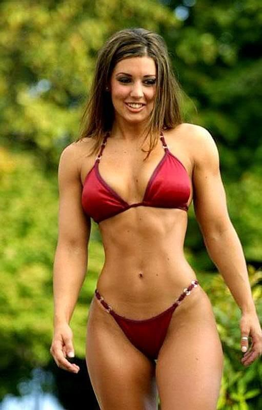 Milf allison muscle