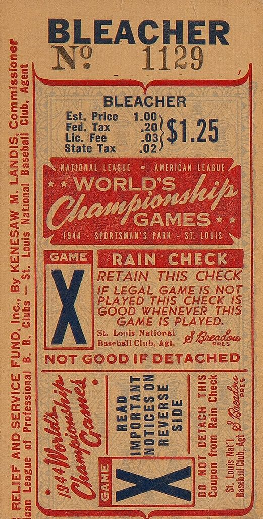 who doesn't love old tickets? this is such a great