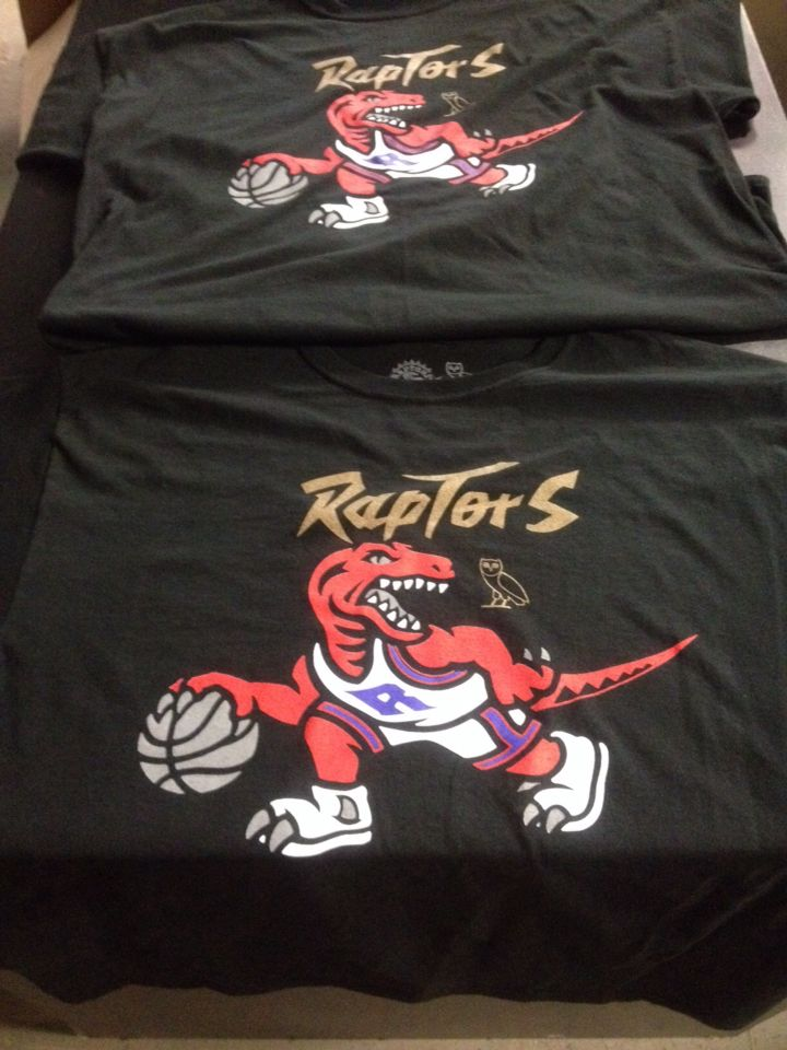 super popular edb7a 58b20 Toronto Raptors Drake Zone OVO tee ! We the North ! Shop ...