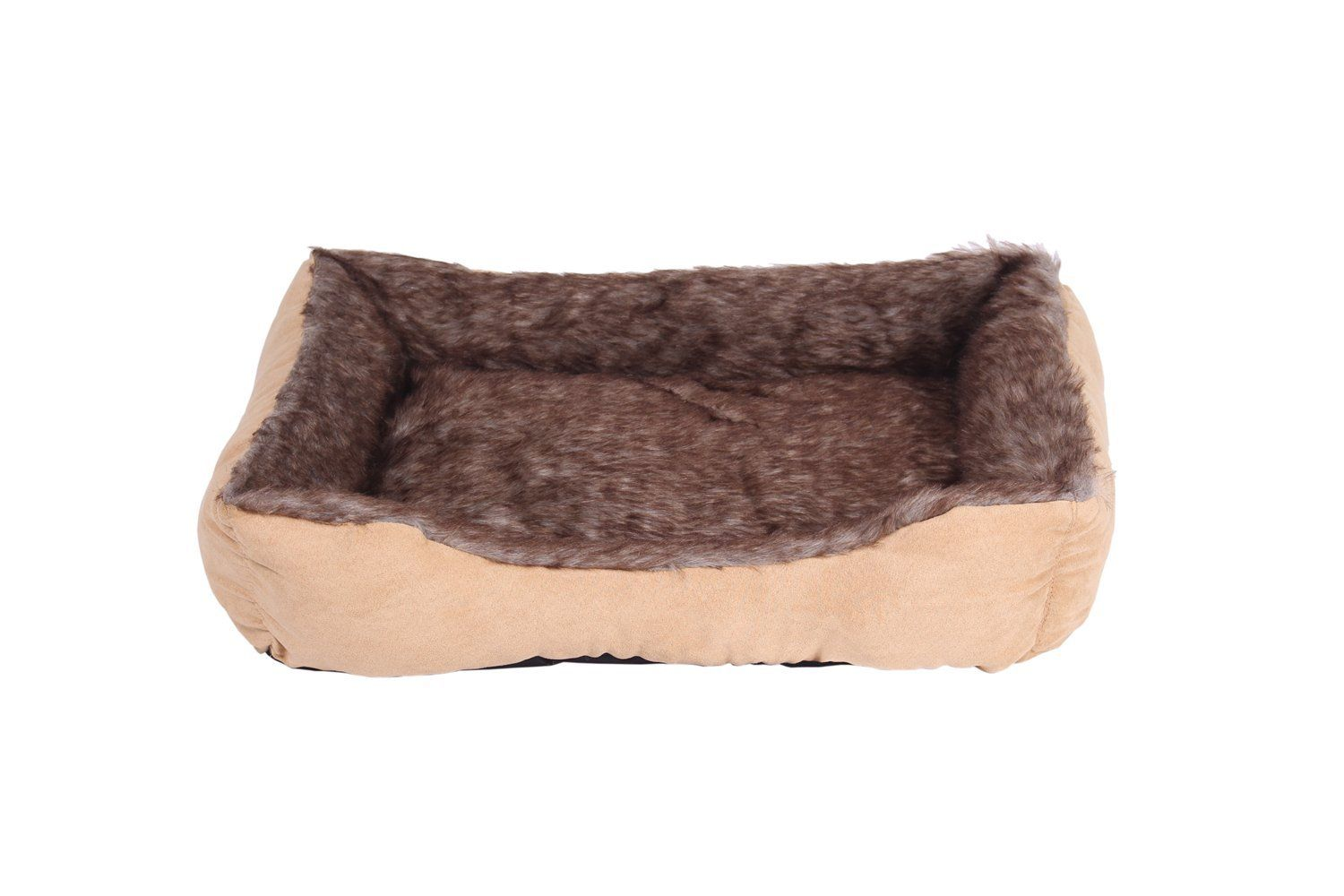 Inn Pet Bed With Removable Cover And Washable Luxury Plush Dog