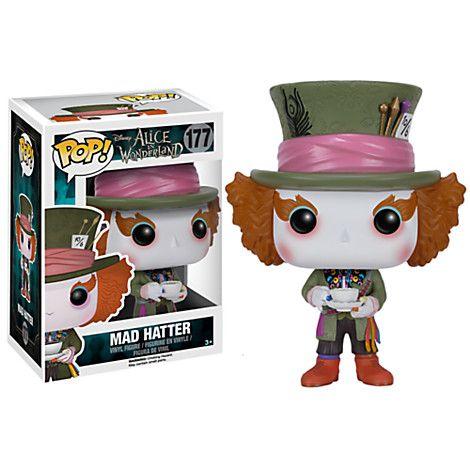 Mad Hatter Pop! Vinyl Figure by Funko - Alice in Wonderland | Disney Store