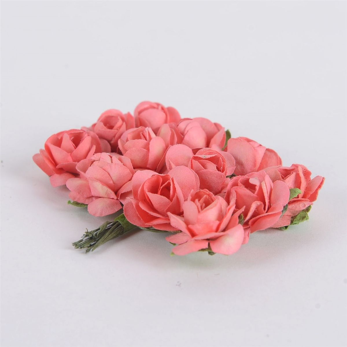 Fuzzy Fabric Affords Topnotch Quality Rose Paper Flowers By 12 12