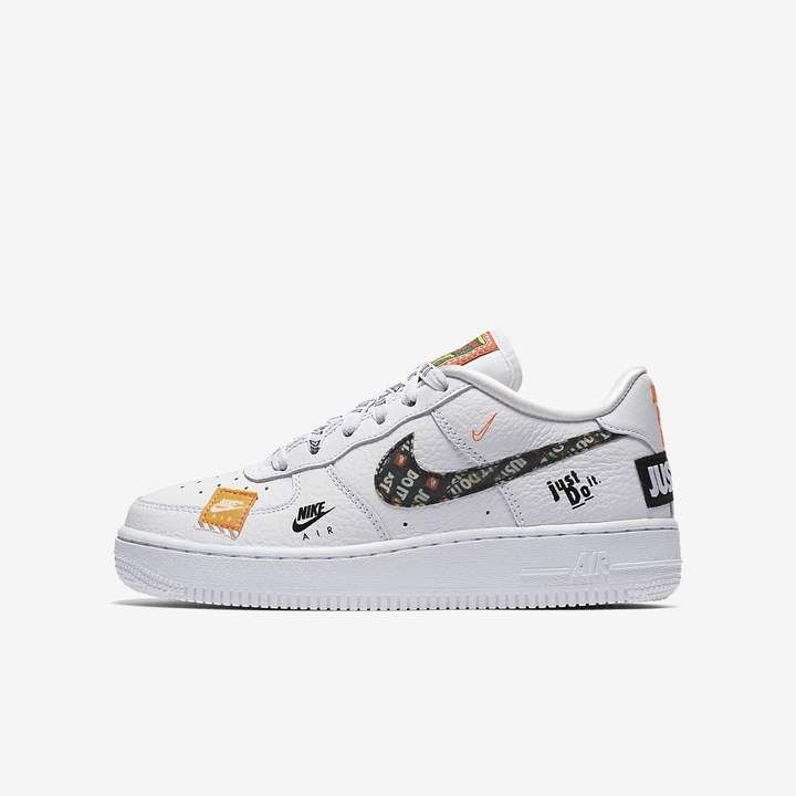 Nike Force 1 Just Do It Premium Big Kids Shoe Nike Kids Clothes