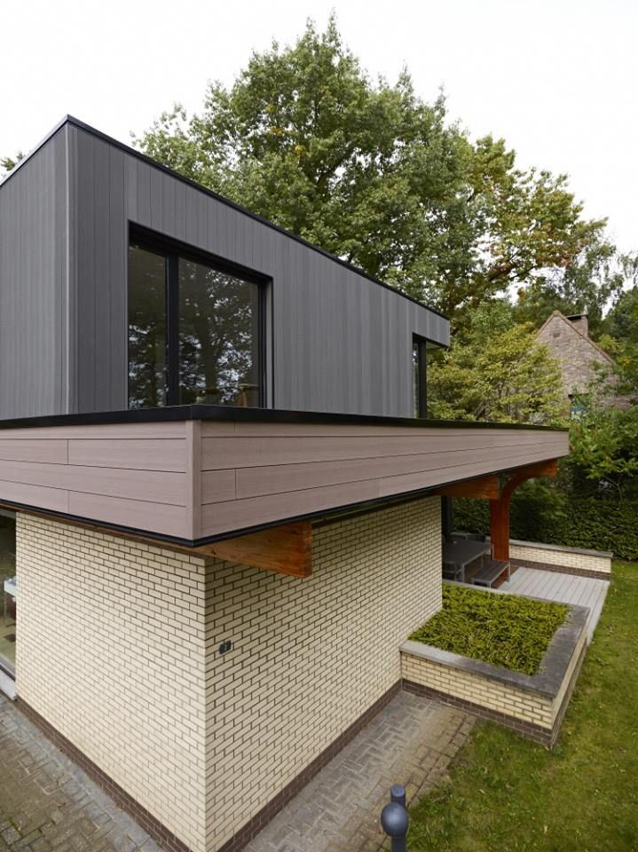 gevelbekleding in twinson materiaal cladding deceuninck gevelbekleding pinterest. Black Bedroom Furniture Sets. Home Design Ideas