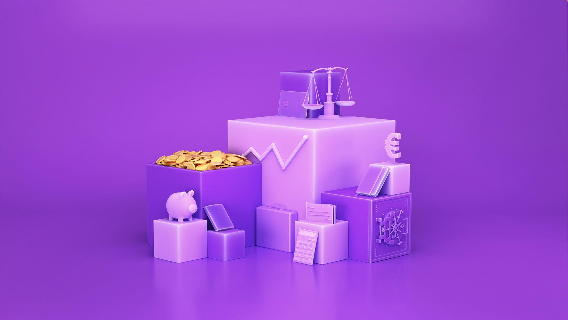 Santalucia Cubes On Behance Cube Objects Behance