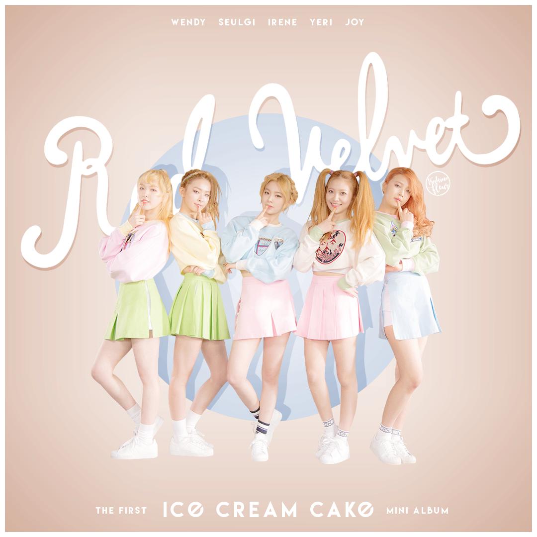 Red Velvet Ice Cream Cake By Tsukinofleur Album Art In 2019