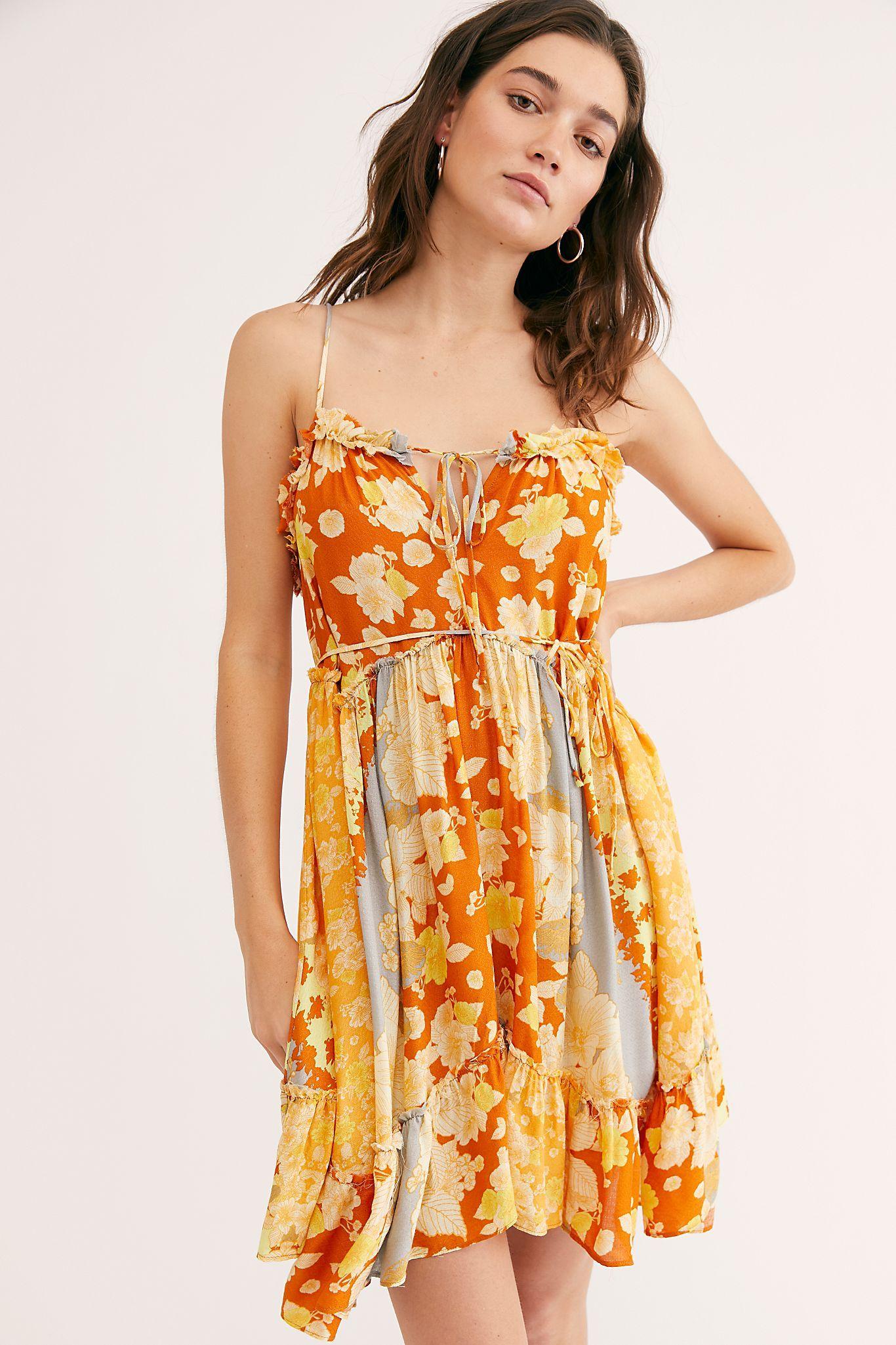 Summer Storm Slip Free People Floral Slip Dress Fashion Mini Dresses Summer [ 2049 x 1366 Pixel ]