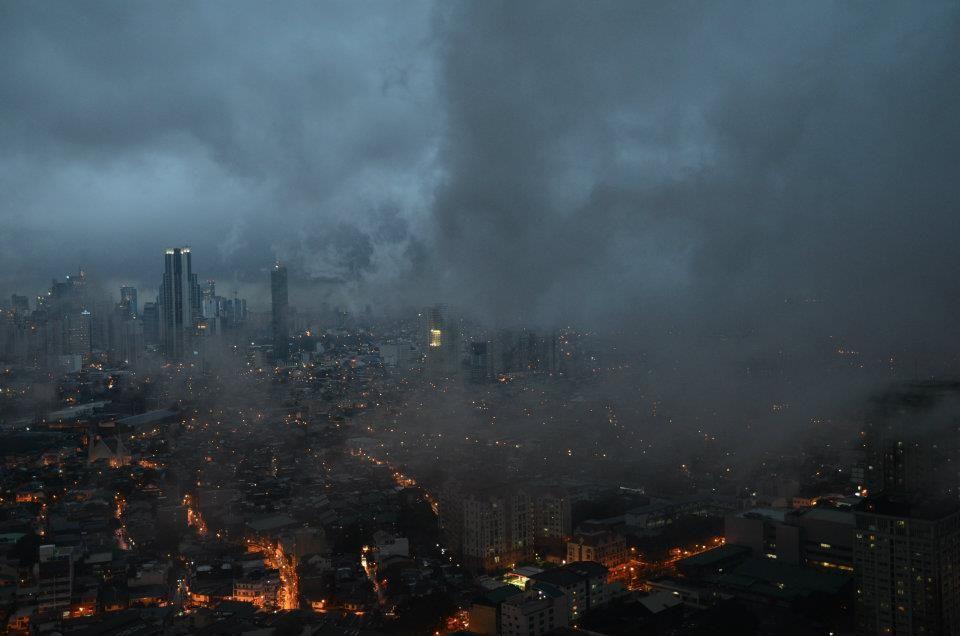 Manila. A bit like Mordor.