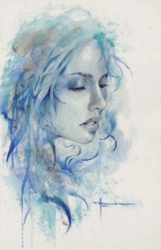 """"""" Così è la mia vita, un affresco molteplice e variabile che solo io posso decifrare e che mi appartiene come un segreto. La mente seleziona, esagera, tradisce, gli avvenimenti si sfumano, le persone si dimenticano e alla fine rimane solo il percorso dell'anima, quei rari momenti di rivelazione dello spirito. Non interessa ciò che mi è accaduto, ma le cicatrici che mi segnano e mi distinguono. """" Isabel Allende Painting: Mekhz By Floriana Baldini"""