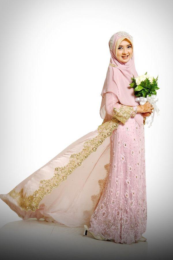 Baju Pengantin Muslimah Syar I Google Search Cute Pinterest