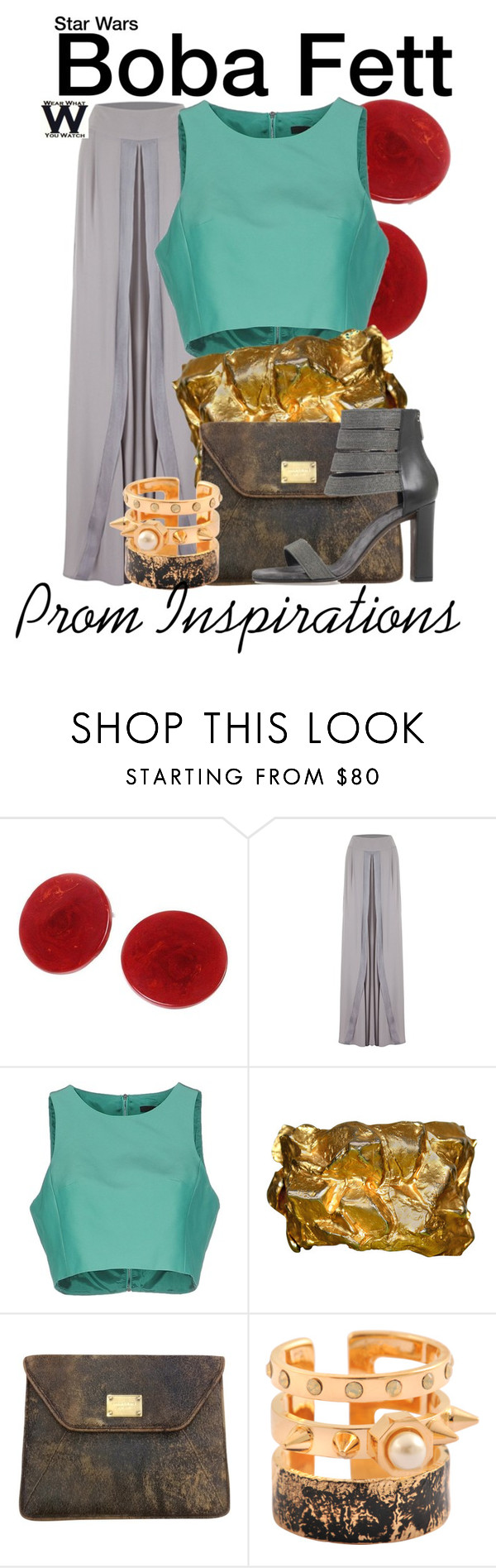 """""""Star Wars - Prom Inspirations"""" by wearwhatyouwatch ❤ liked on Polyvore featuring TIBI, Michael Kors, Maria Francesca Pepe, Brunello Cucinelli, Prom, wearwhatyouwatch, film, starwars and promfashion"""