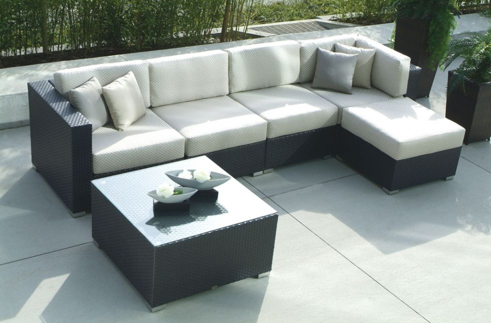 Casa Madrid Ratana Home And Floral Outdoor Furniture Sofa
