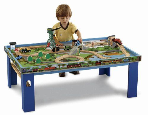 Thomas Wooden Railway - Wooden Railway Play Table Fisher-Price,http ...