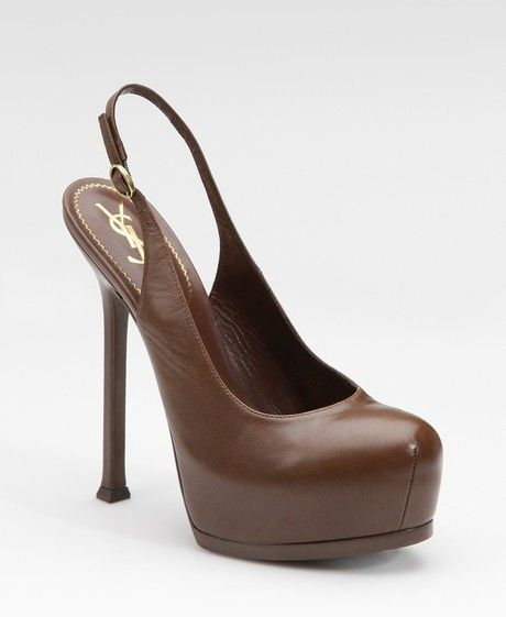85e13ce99b29 Women s Brown Tribtoo Platform Slingback Pumps