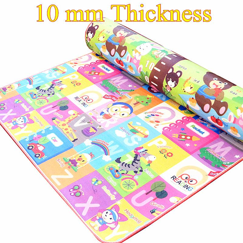 39 Awesome 10 Mm Thick Double Sides Children Play Mat Waterproof Kids Beach Picnic Mat Soft Eva Foam Carpet Rug Baby Crawling Mat Baby Toy Baby Crawling Mat