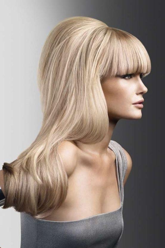 Beehive Beehive Styles Height Crown Volume Long Hair Long Hair Styles Bangs Long Hair Styles Hair Styles Long Hair Trends