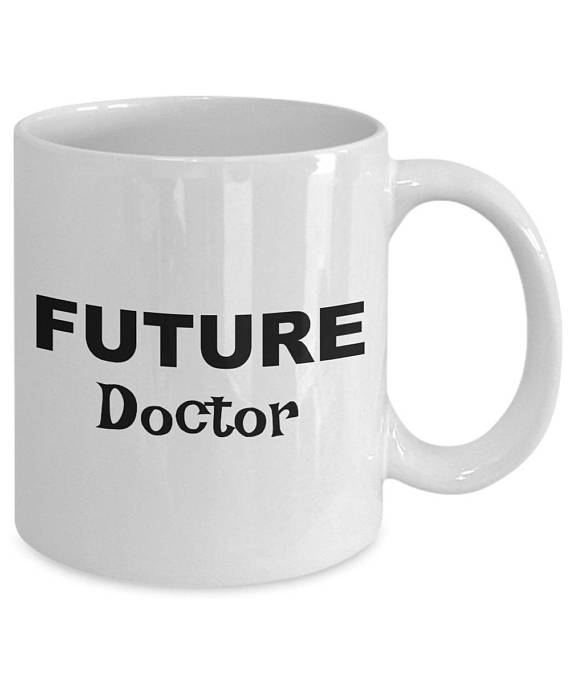 Future Doctor Gifts Coffee Mug Gift For Present Birthday A
