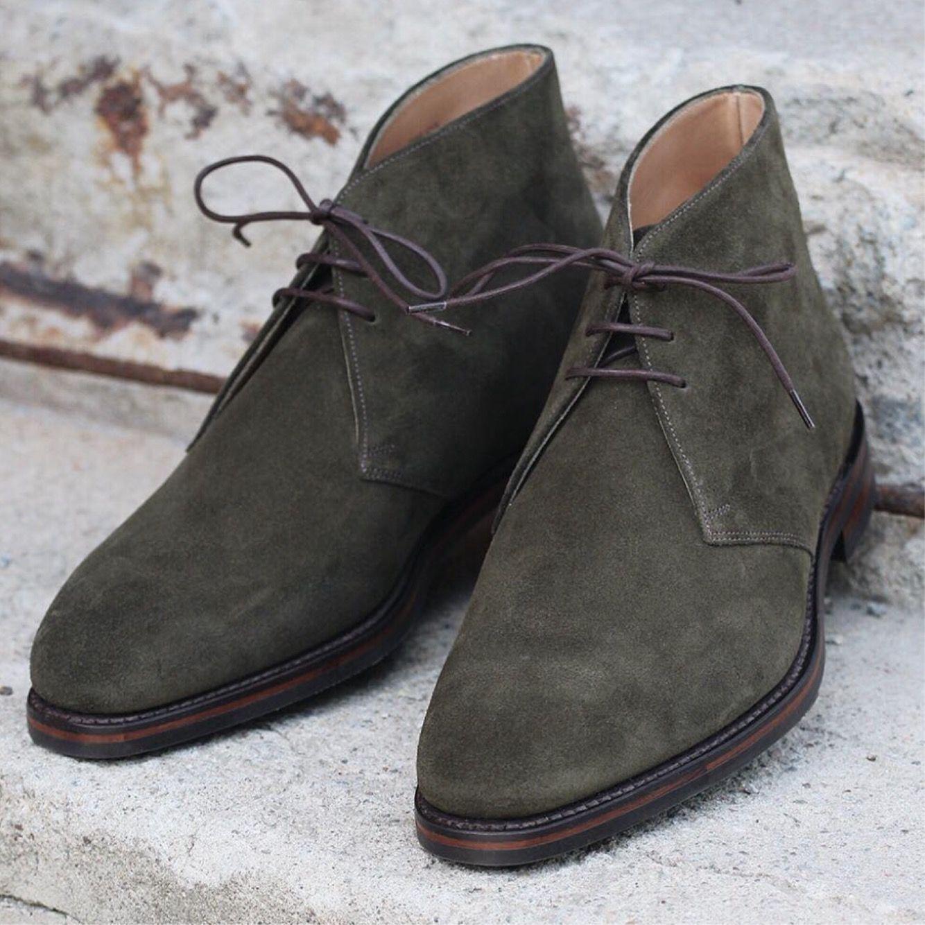 Chukka boots, Suede chukka boots