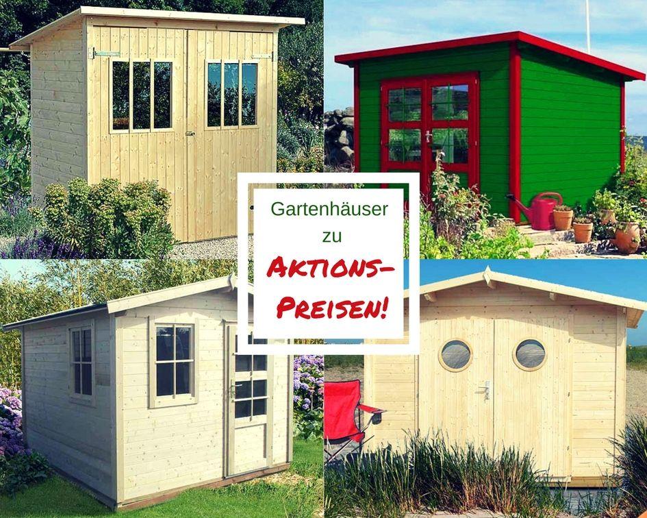 Attraktive Gartenhäuser zu attraktiven Preisen. Günstige