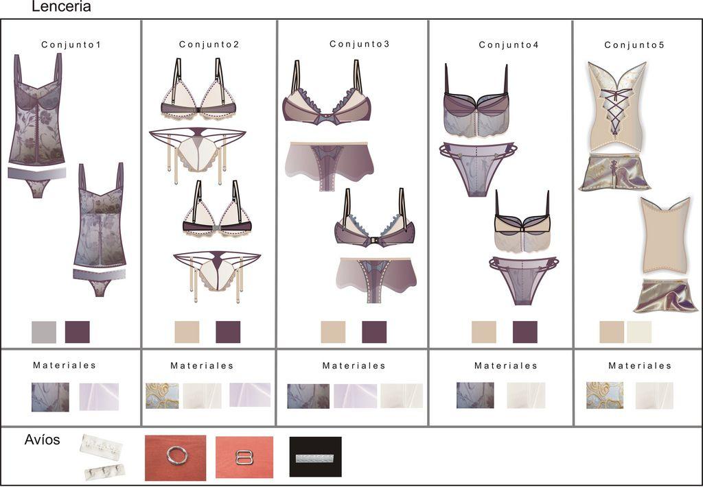 geometral ropa interior - Buscar con Google | GEOMETRALES | Pinterest