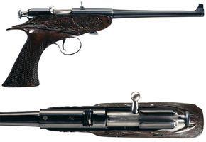 Peculiar Pistol: The Winchester Bolt-Action Pistol - Guns & Ammo #gunsammo