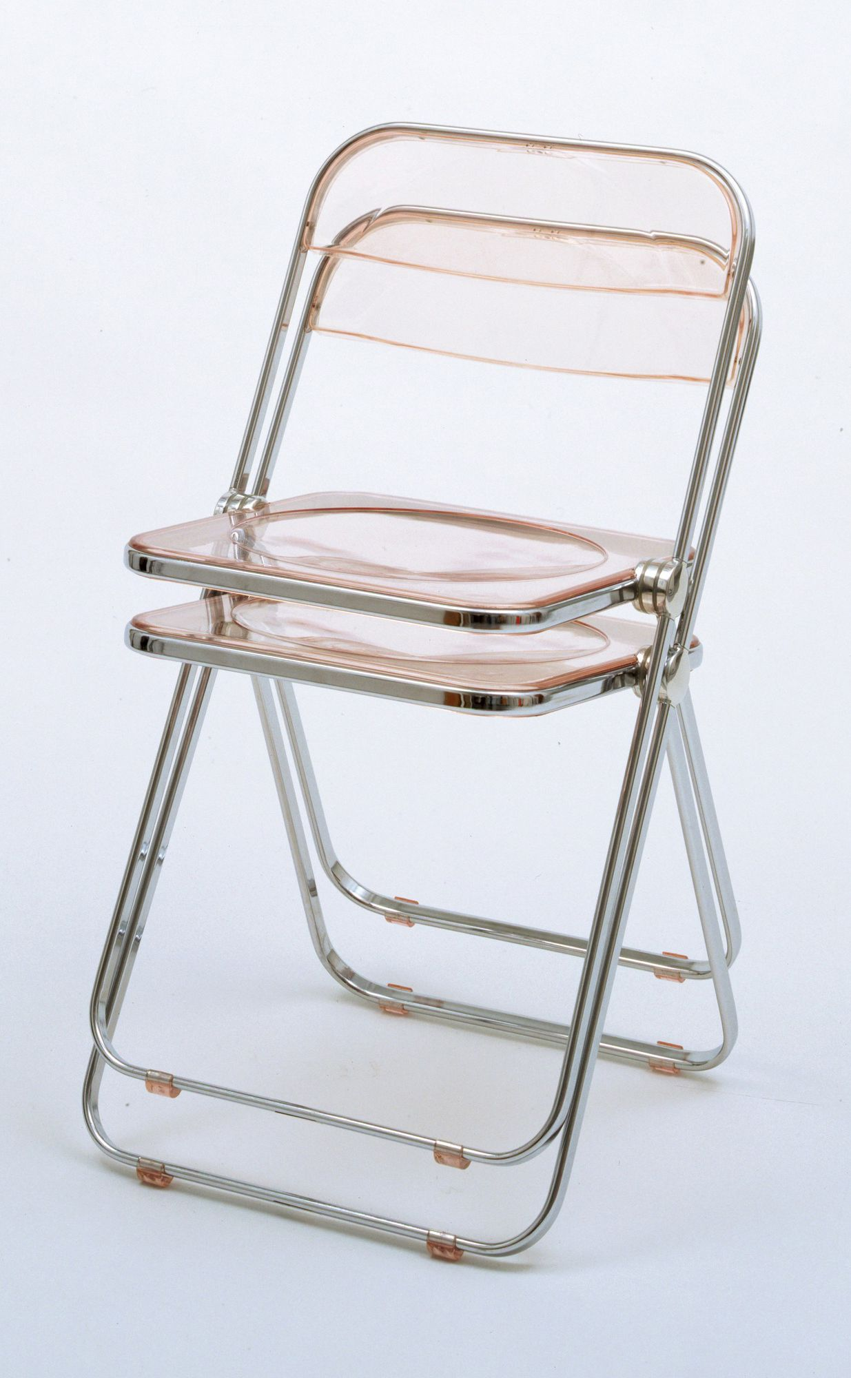Giancarlo Piretti  Plia Folding and Stacking Chair  1967   MoMA is part of Foldable chairs - 4  (46 3 cm)  Gift of the manufacturer  419 1972 12  Architecture and Design