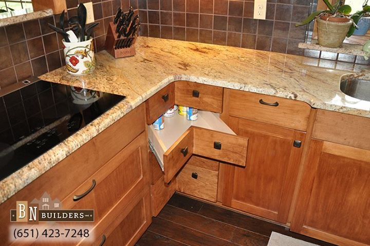 Make efficient use of your cabinet space! Those cabinet ...