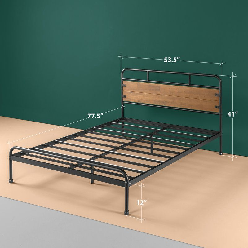 Vong Platform Bed In 2020 Wood Platform Bed Metal Platform Bed Furniture