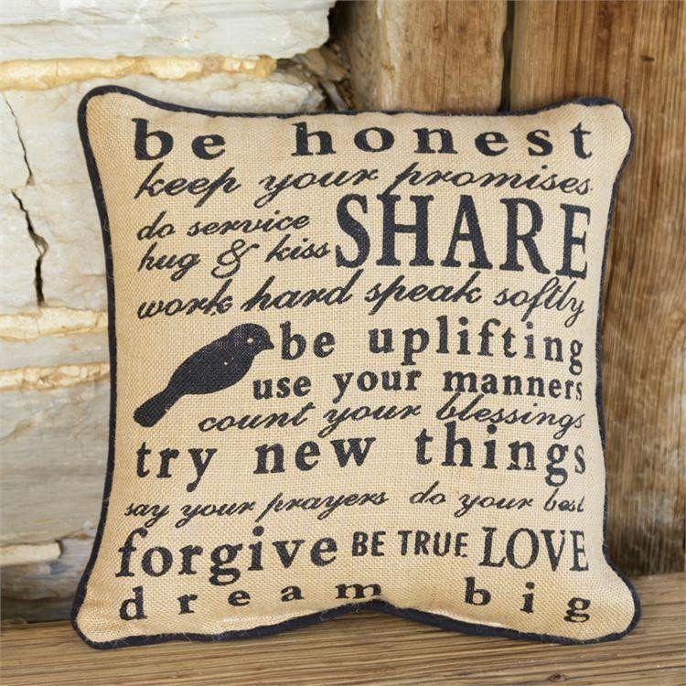 Be Honest Pillow