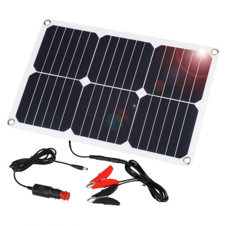 Suakoi 18w Solar Battery Charger Solar Car Solar Panel Charger Solar Battery