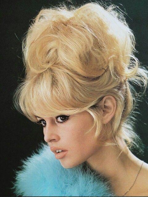 Brigitte Bardot's Iconic updo