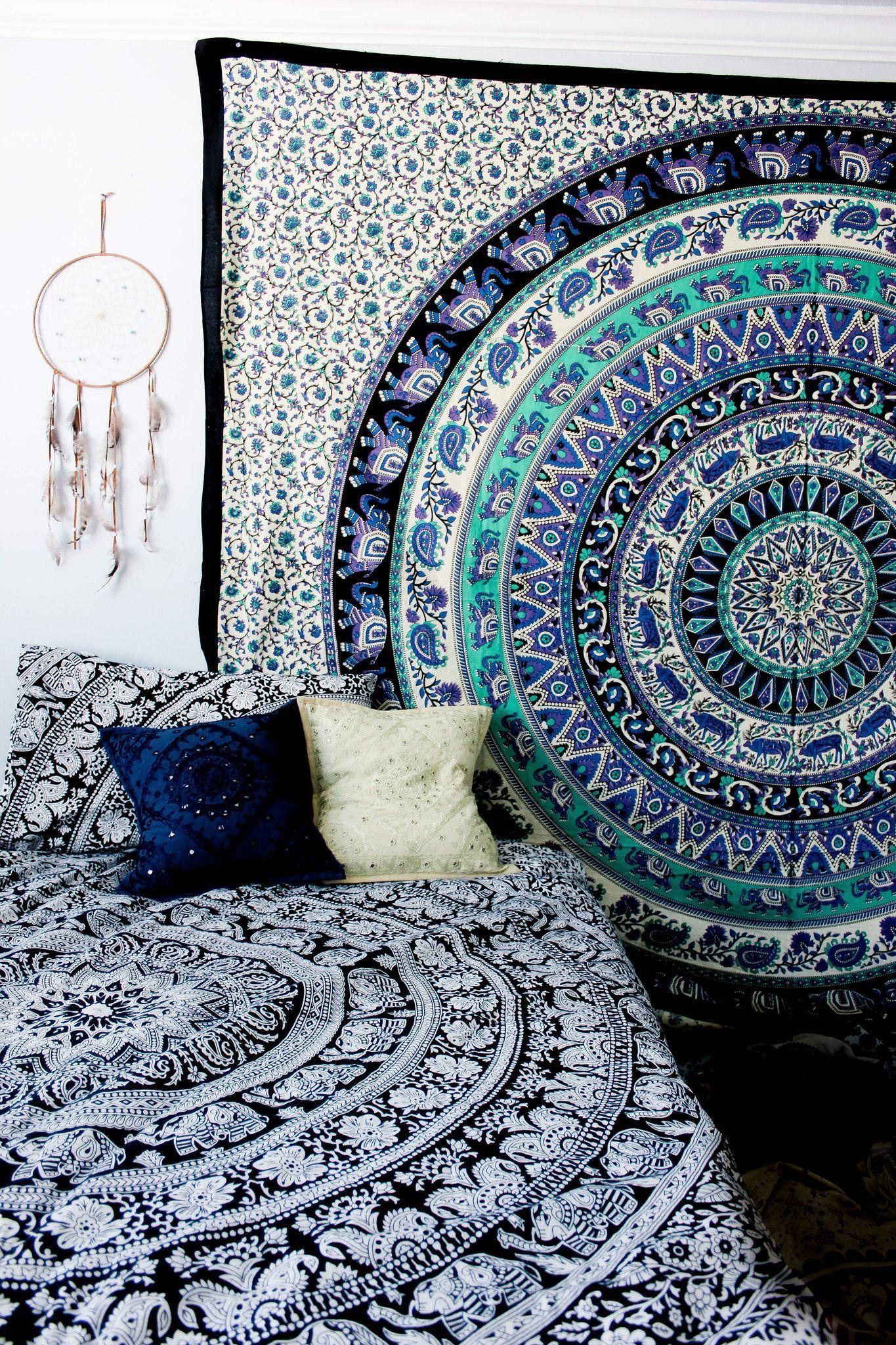 Spellbound Mandala Tapestry Dorm Tapestry Bedroom Decor