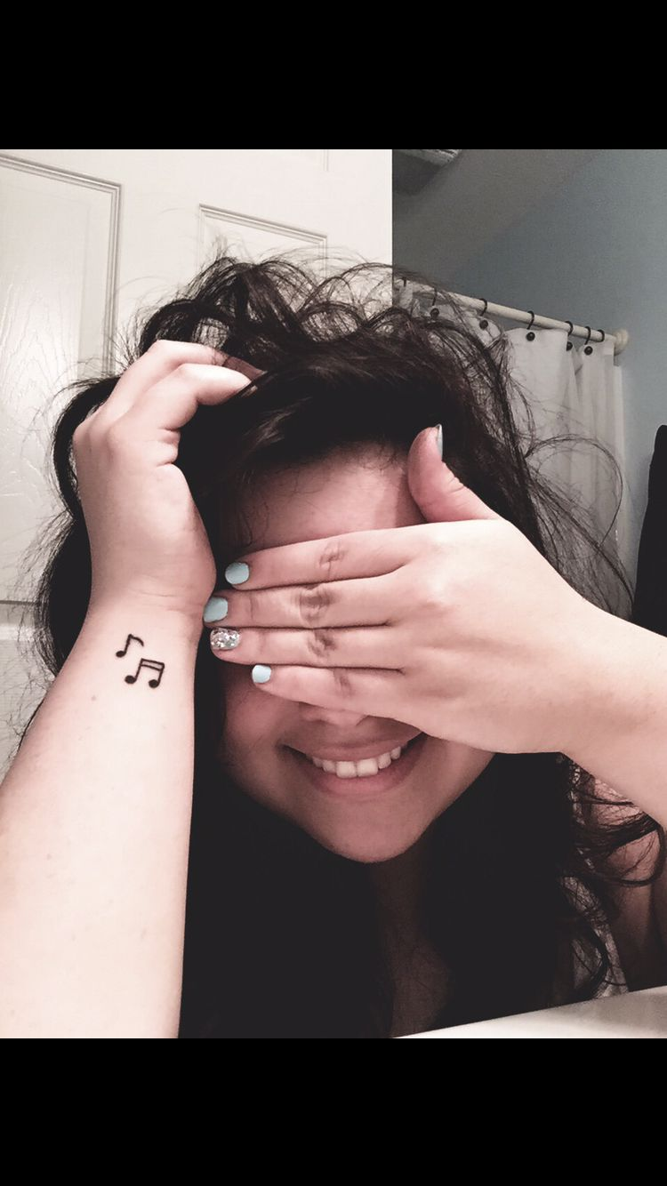 Music notes tattoos pinterest music notes tattoo and note tattoo designs music notes biocorpaavc Image collections