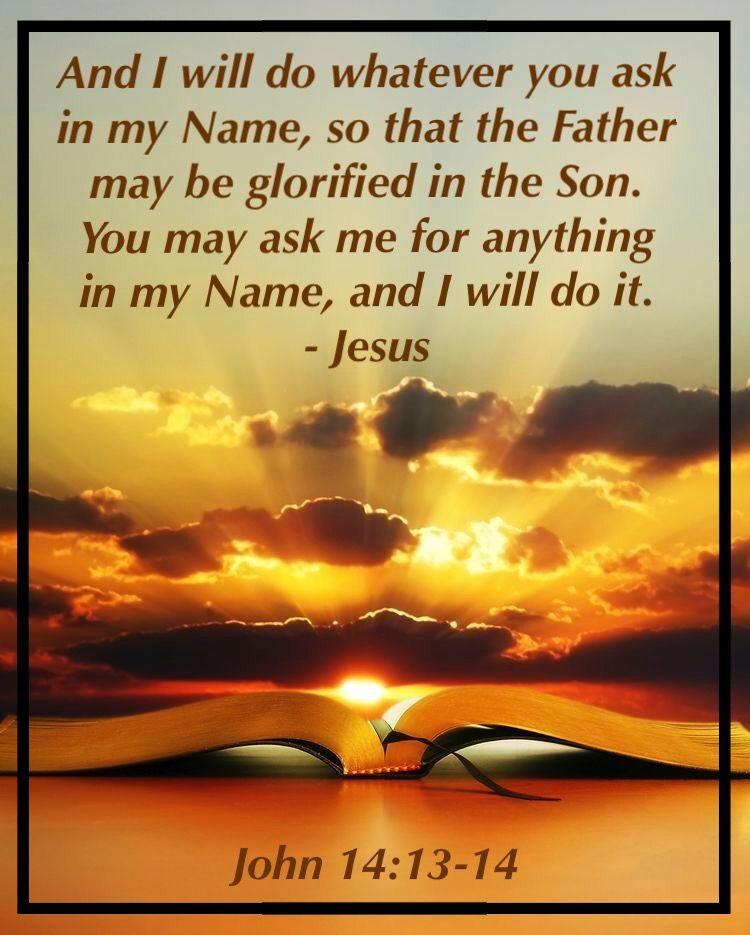 Kuvahaun tulos haulle John 14:13-14