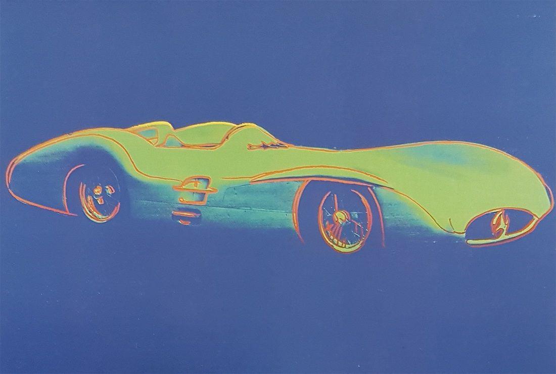 В салоне Mercedes-Benz Rus состоится выставка работ Энди Уорхола