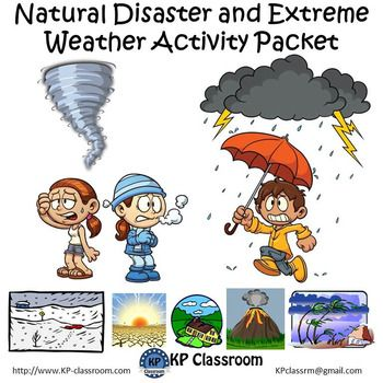 Natural Disaster and Extreme Weather Activity Packet and ...