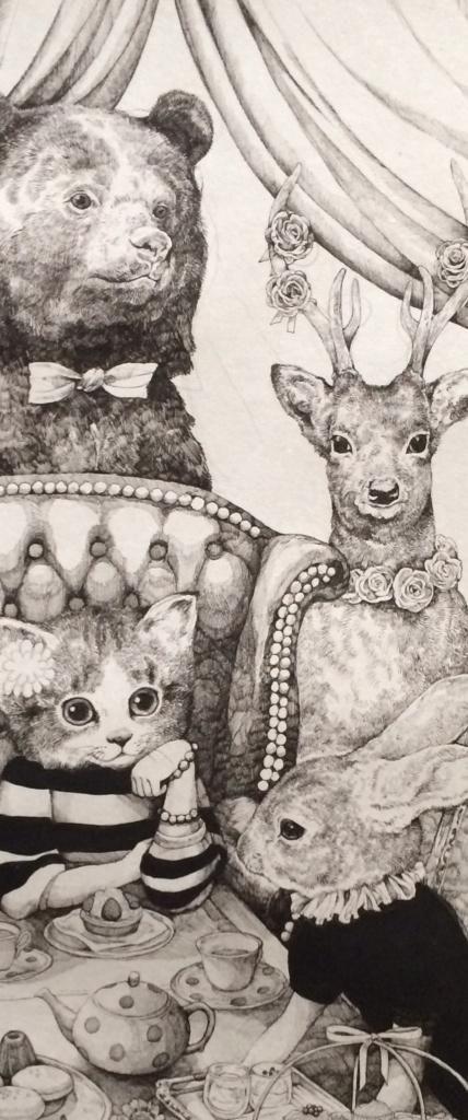 ヒグチユウコ on illustrations drawings and art illustrations