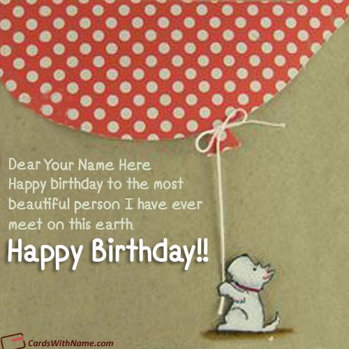 Golden Balloons Birthday Wishes Card Online Free Birthday Greeting Cards Birthday Wishes Unique Birthday Wishes