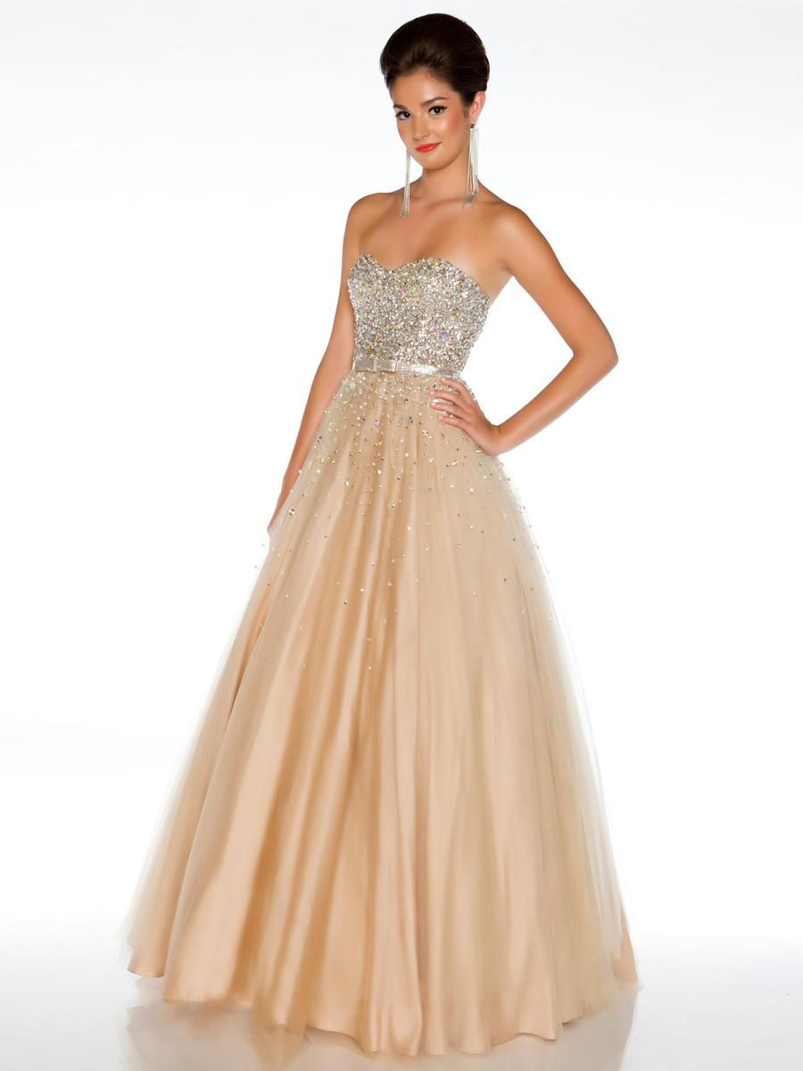 Macduggal ballgowns beaded bodice evening gown h sweet