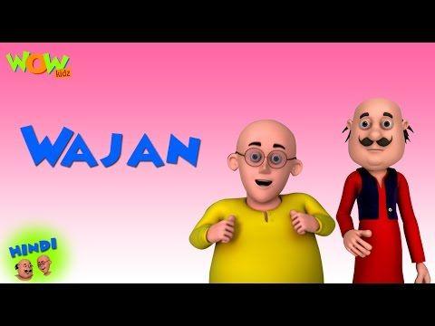 Wajan Motu Patlu In Hindi For Kids Cartoon Latest Episode