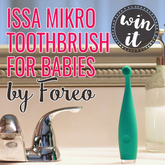 Win It Issa Mikro Toothbrush For Babies By Foreo With Images Brushing Teeth Best Baby Gifts Foreo